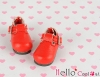 【03-03】B/P Mini Shoes # Red