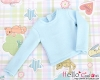 359.【NB-5】Blythe Pullip(Extra Long Sleeves)T-Shirt # Sky Blue