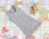 378.【NC-9】Blythe Pullip Long Tank Top(Low Chest)# Grey