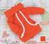 118.【NH-A13】Blythe Pullip Pocket Top # Orange Red