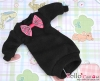 52.【NK-35】Blythe Pullip(Puffed Sleeves)Clothes # Black(Bow)