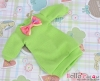 67.【NK-44】Blythe Pullip(Puffed Sleeves)Clothes # Apple Green(Bow)