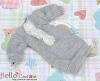 12.【NK-46】Blythe、Pullip Lovely Decoration Clothes # Grey(Lace Flower)