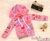 45.【NP-B06】B/P Hoodie Top(Long Sleeves)# Fruit Deep Pink