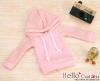 83.【NP-B13】B/P Hoodie Top(Long Sleeves)# Dot Pink