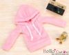 207.【NP-B20】B/P Hoodie Top(Long Sleeves)# Pink