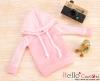 372.【NP-B24】B/P Hoodie Top(Long Sleeves)# Grid Pink