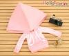 257.【NP-C06】B/P Hoodie Top(Big Cap+Pocket)# Grid Pink
