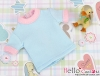 94.【NR-6】Blythe/Pullip short sleeve tee # Sky Blue/Pink