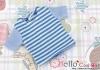 97.Blythe/Pullip T-Shirt ( NS-15N ) Stripe Blue