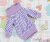 33.【NI-03N】Blythe Pullip Lovely Clothes(Grid) # White+Purple