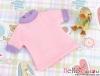 63.【NR-1】Blythe/Pullip short sleeve tee # Pink/Purple