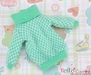 42.【NI-12N】Blythe Pullip Lovely Clothes(Grid)# White+Aqua Green