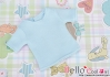133.【NS-45】Blythe/Pullip short sleeve T-shirt(crew neck)# Baby Blue