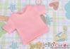 68.【NS-47】Blythe/Pullip short sleeve T-shirt(crew neck)#Honey Pink