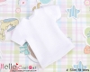 47.【NS-48】Blythe/Pullip short sleeve T-shirt(Slim Fit)# White