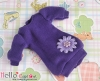 368.【NK-05N】Blythe、Pullip Lovely Decoration Clothes # Purple(Ribbon Flower)