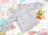 405.【NL-6】Blythe Pullip Puffed Sleeves Top # Grey