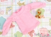 412.【NL-5】Blythe Pullip Puffed Sleeves Top # Pink