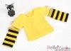 339.【NT-8】Blythe Pullip(Separate Sleeves)Tee # Stripe Yellow