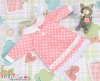 73.【NY-1】Blythe Pullip One-Piece Dress w/Collar # Pink