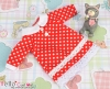 103.【NY-2】Blythe Pullip One-Piece Dress w/Collar # Red