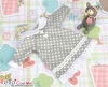 55.【NY-4】Blythe Pullip One-Piece Dress w/Collar # Grey