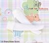 【KS-C01/KS-S05N】(B/P) Lace Top Below Knee Socks # White