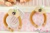 (Pullip)HandMade Custom Hair Band # Bow Bear