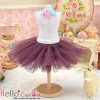 146.【PC-05】Blythe/Pullip Tulle Ball Mini Skirt # Violet