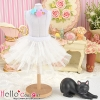 180.【PD-11】Blythe/Pullip Tulle Cake Mini Skirt # White