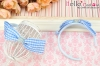(Pullip)HandMade Custom Hair Band # Bow Blue