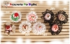 【Pin-16】1Pc Ice Cream Hair Pin # CR08