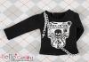 i05.【PR-05】B/P Printing Tee Long Sleeve(Believe)# Black