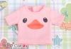 i116.【PR-116】B/P Printing Tee(Duck)# Pink