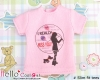 i118.【PR-118】B/P Printing Tee/Slim Fit(Miss You)# Pink