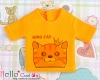 i59.【PR-59】B/P Printing Tee(King Cats)# Yellow