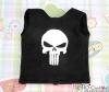 【PR-130】Taeyang Printing Tank Top(Skull)# Black
