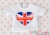 i21.【PR-21】B/P Printing Tee(UK Heart)# White