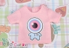 i27.【PR-27N】B/P Printing Tee(Eyeball Baby)# Pink