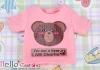 i82.【PR-82】B/P Printing Tee(Charlie)# Sweet Pink
