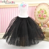 277.【PS-12】Blythe/Pullip Long Tulle Ball Skirt # Black