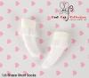 【KS-A12】(B/P) Lace Top Ankle Socks # White