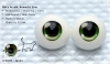 22mm/Meta Acrylic Animetic Eyes (RD-07) Green