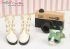 【09-2】B/P Short Shoes.White