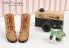 【09-3】B/P Short Shoes.Brown