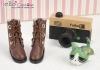 【09-4】B/P Short Shoes.Chocolate
