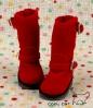 【10-05】B/P Boots.Crimson