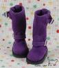 【10-07】B/P Boots.Violet Blue