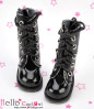 【13-11】B/P Boots.Shiny Black